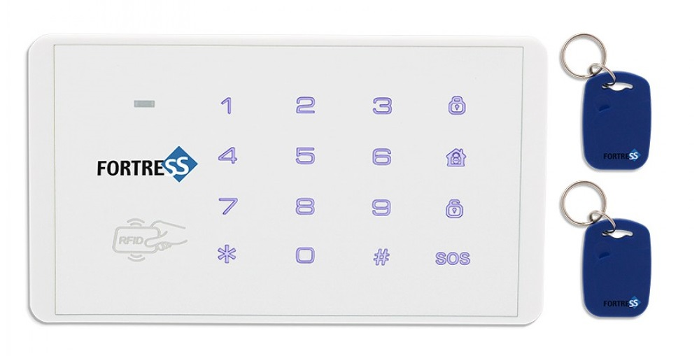 RFID Keypad's passwords